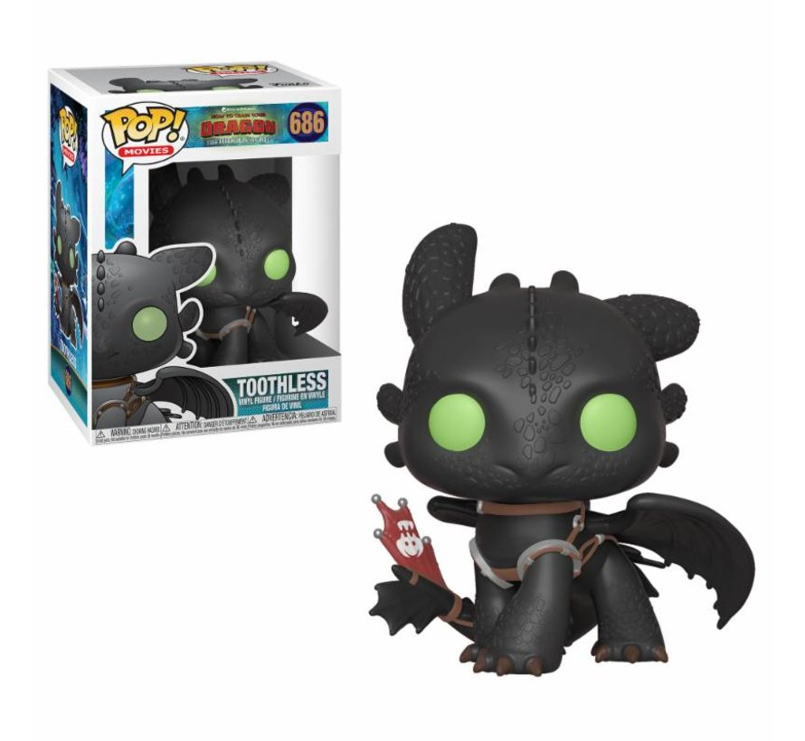 Toothless #686  - How To Train Your Dragon 3 -  - Funko POP!