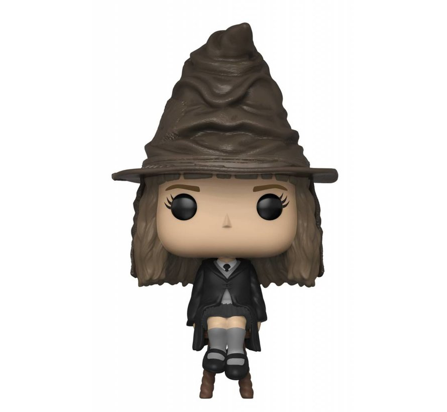 Hermione Granger with Sorting Hat - Box Damage #69  - Harry Potter - NYCC Exclusive - Funko POP!