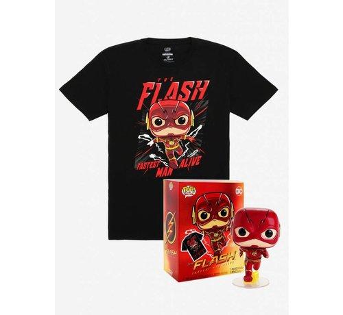 Funko The Flash Vinyl Pop + Tee Box  - DC Comics - BoxLunch Exclusive - Funko POP!