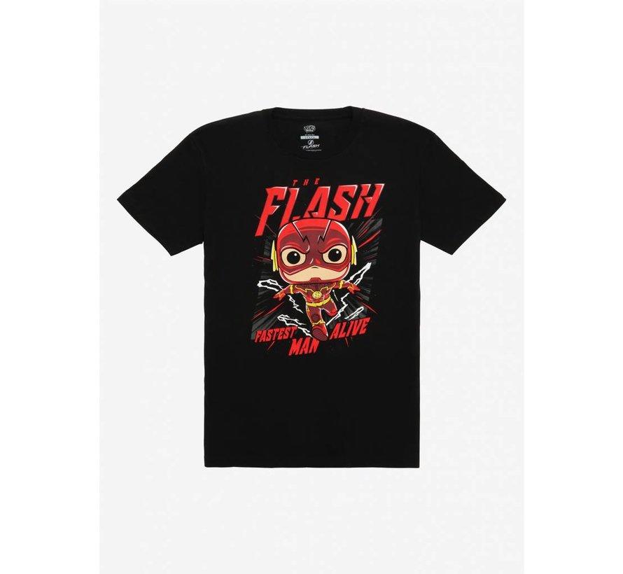 The Flash Vinyl Pop + Tee Box  - DC Comics - BoxLunch Exclusive - Funko POP!