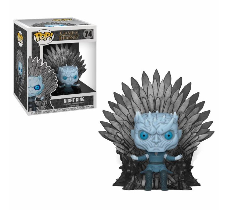 Night King Sitting on Throne #74  - Game of Thrones - Deluxe - Funko POP!
