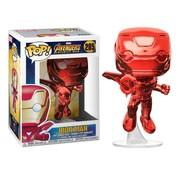 Funko Iron Man (Red Chrome) #285 - Funko POP!