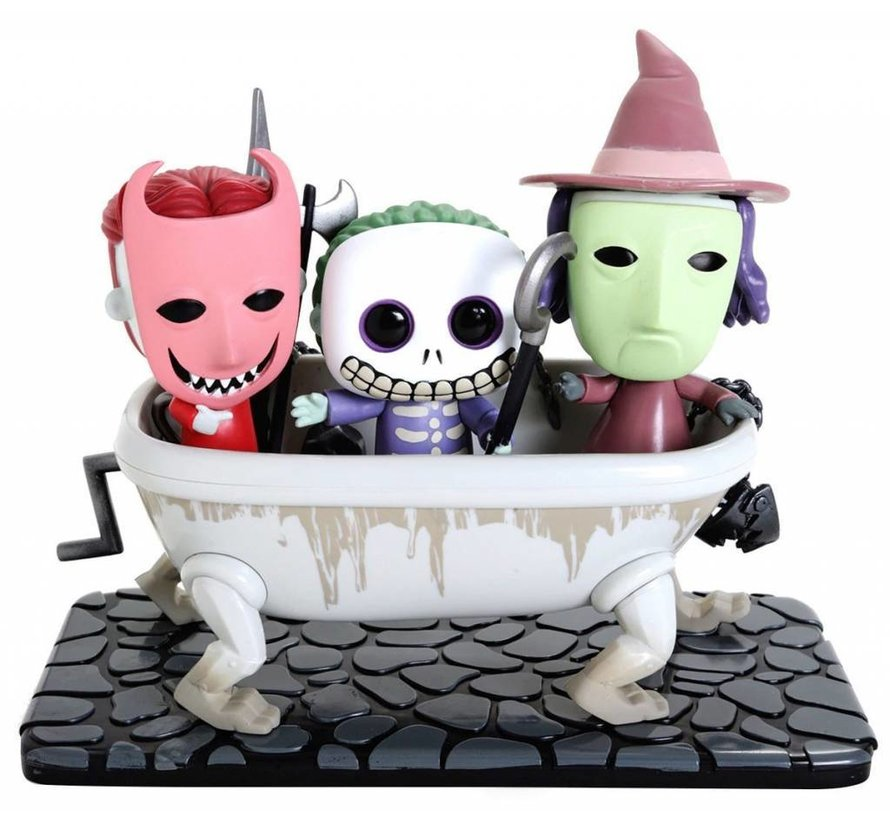 Lock, Shock & Barrel #474 Limited Editie - Nightmare Before Christmas - Disney Movie Moment - Funko POP!