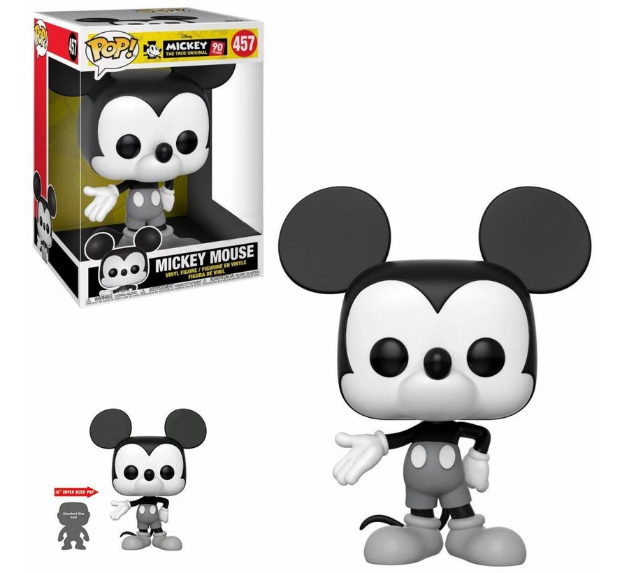 "10"" Mickey Mouse #457 Limited Editie - Mickey 90 Years - Disney - Funko POP!"