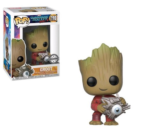 Funko Groot with Cyber Eye #280 Limited Editie - Guardians of the Galaxy vol. 2 - Marvel - Funko POP!