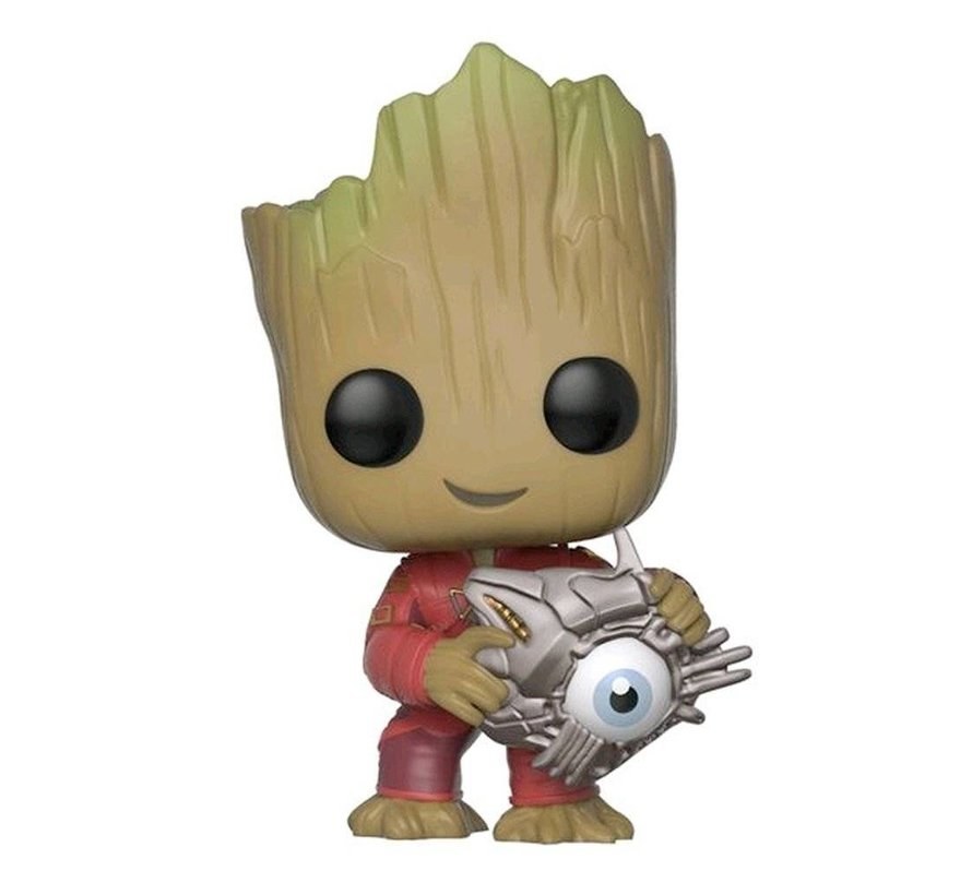 Groot with Cyber Eye #280 Limited Editie - Guardians of the Galaxy vol. 2 - Marvel - Funko POP!