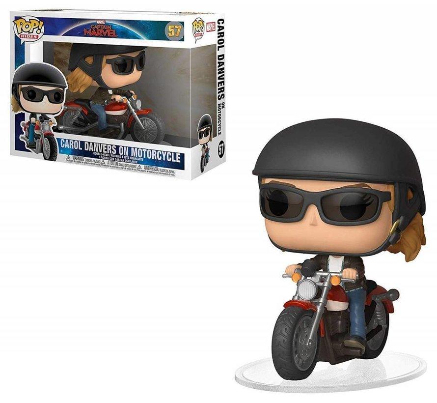 Carol Danvers on Motorcycle Ride #57  - Captain Marvel - Funko POP!