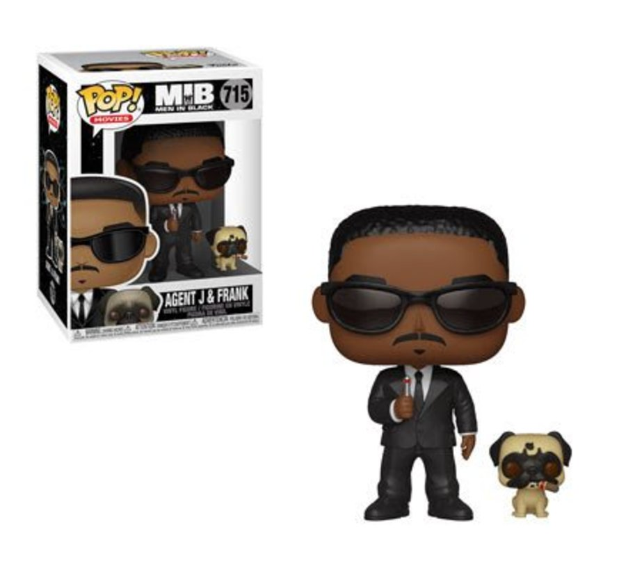 Agent J & Frank #715  - Men in Black -  - Funko POP!