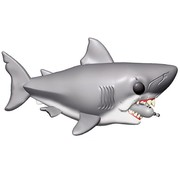"Funko 6"" Jaws with Diving tank  # - Funko POP!"