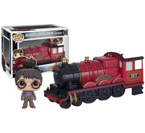 Funko Hogwarts Express Engine & Harry #20  - Harry Potter -  - Funko POP! Box Damage