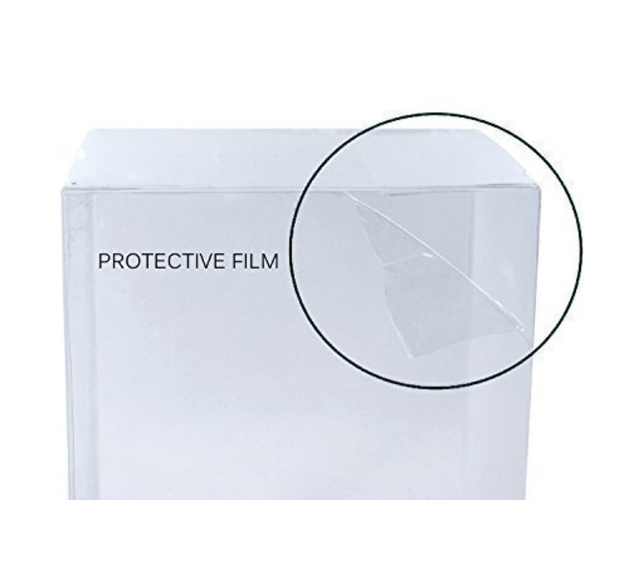 """Protector case voor 4""""  Funko POP!™ - Flexibele sleeve by REBL™ - 0,4mm - 5 stuks"""