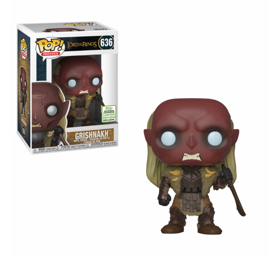 Grishnakh #636 Limited Editie - Lord of the Rings - ECCC exclusive - Funko POP!