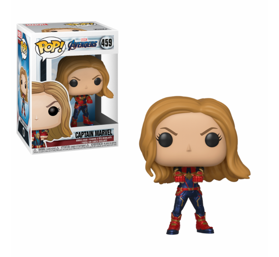 Captain Marvel #459  - Avengers Endgame - Marvel - Funko POP!