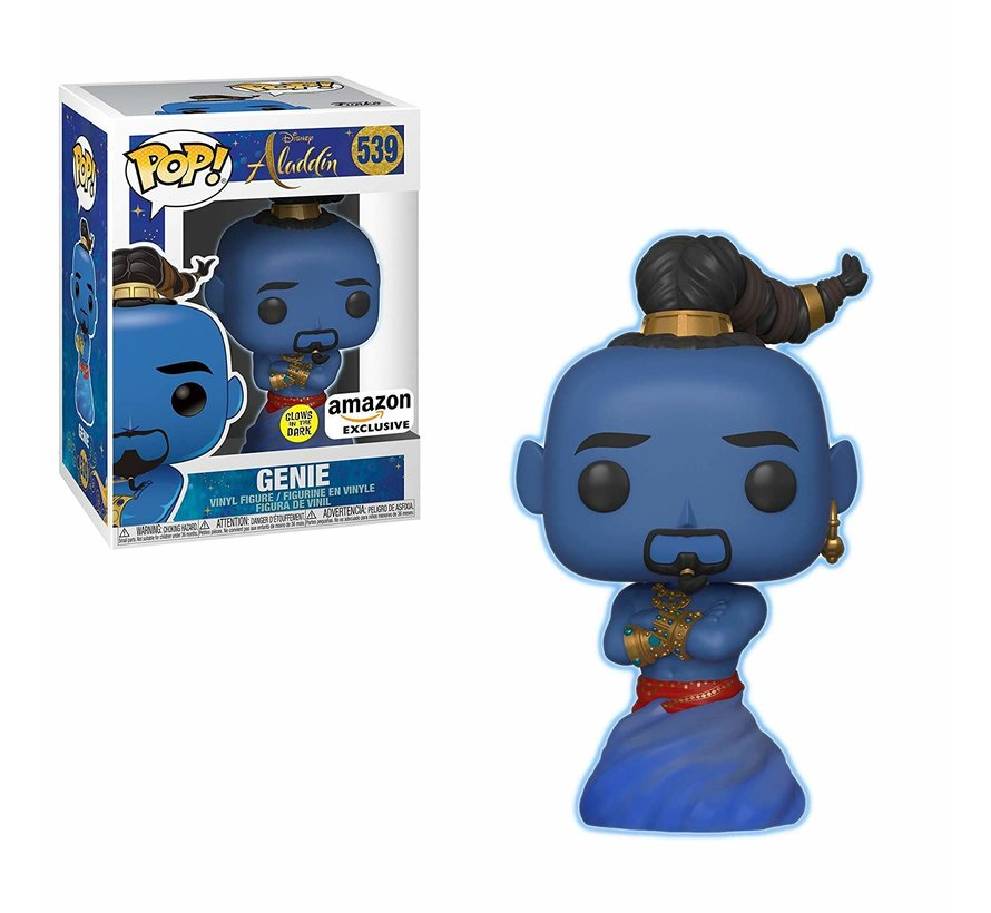 Genie - Amazon Exclusive #539 Limited Editie - Aladdin - Disney - Funko POP!