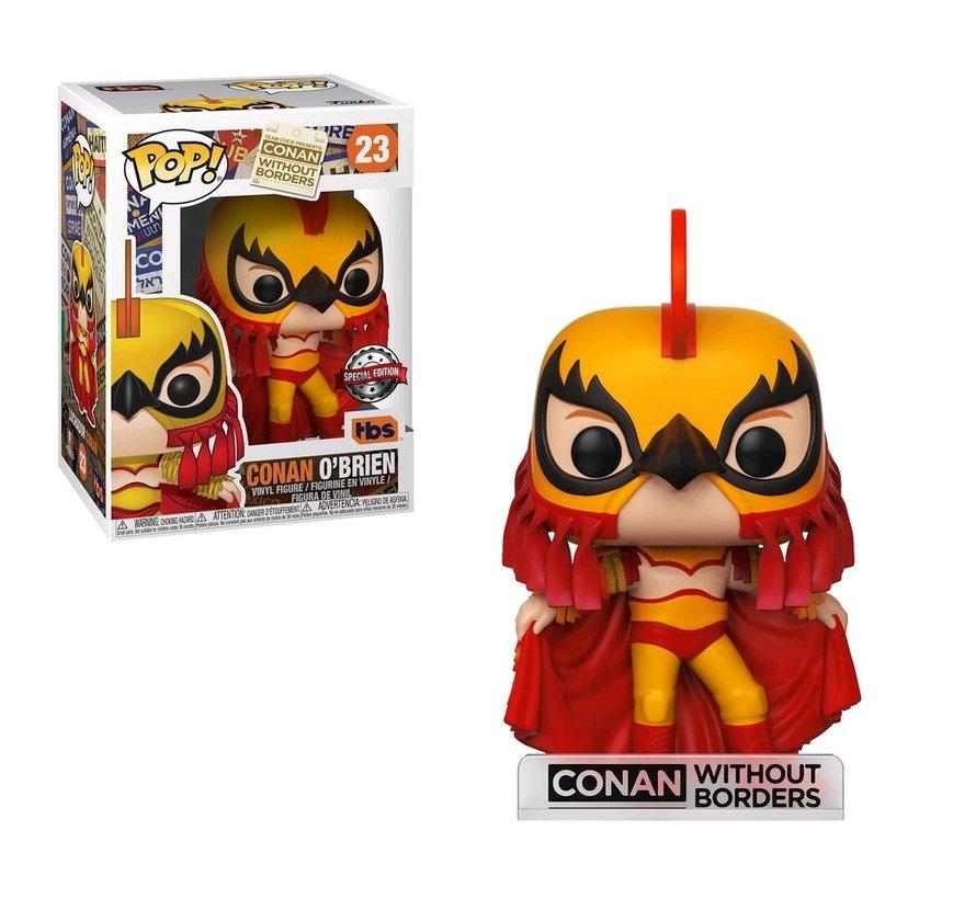 Conan O'Brien Luchador #23 Limited Editie - Conan without borders -  - Funko POP!