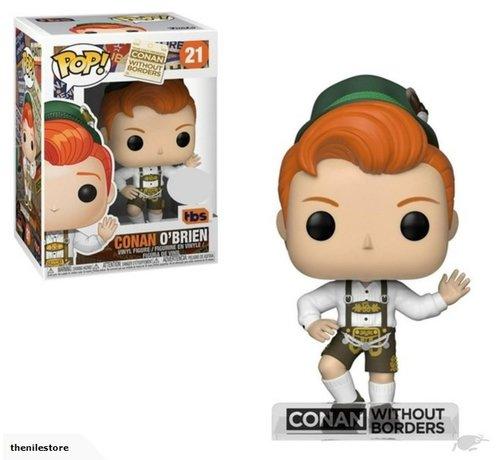 Funko Conan O'Brien in Lederhosen #21 Limited Editie - Conan without borders -  - Funko POP!