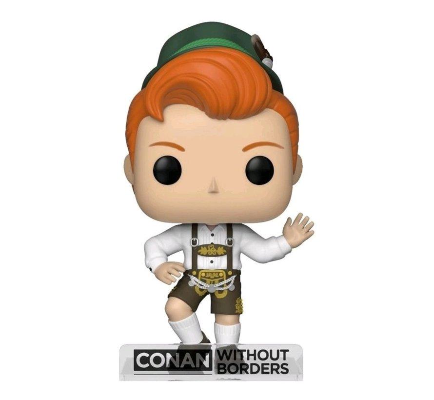 Conan O'Brien in Lederhosen #21 Limited Editie - Conan without borders -  - Funko POP!