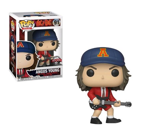 Funko Angus Young #91 Limited Editie - AC/DC -  - Funko POP!