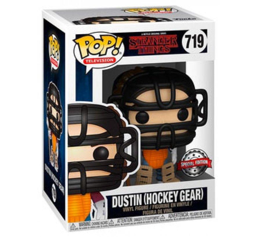 Dustin (Hockey Gear) #719 Limited Editie - Stranger Things -  - Funko POP!