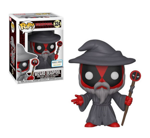 Funko Wizard Deadpool Barnes & Noble Exclusive #324  - Deadpool - Marvel - Funko POP!