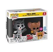 Funko Tom & Jerry Flocked 2-pack - Funko POP! - Box Damage