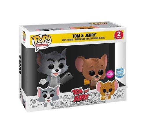 Funko Tom & Jerry Flocked 2-pack Funko-shop exclusive - Funko POP! - Box Damage