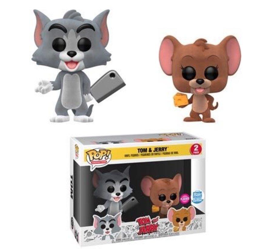 Tom & Jerry Flocked 2-pack Funko-shop exclusive - Funko POP! - Box Damage