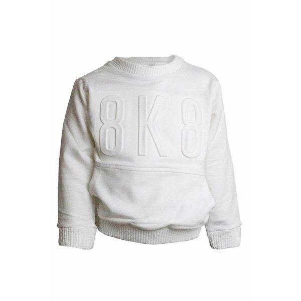 witte sweatshirt