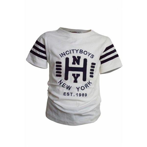 T-shirt met text
