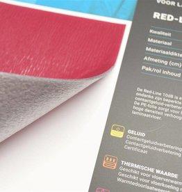 Red line ondervloer vloerverwarming
