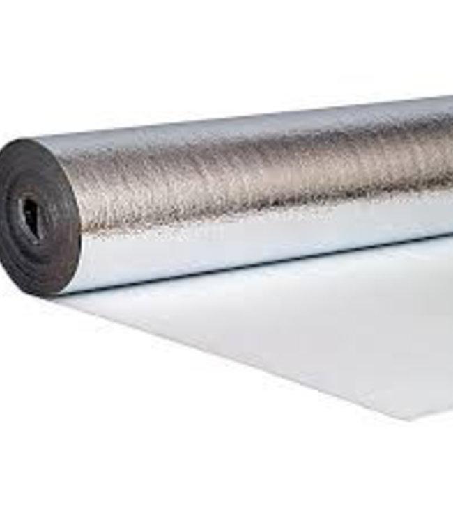 Ondervloer voor laminaat, parket, vloerverwarming