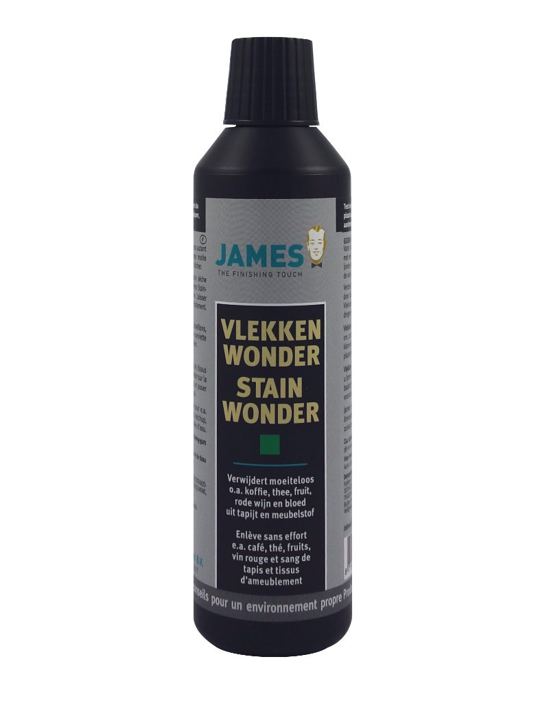 James Vlekverwijderaar tapijt, karpet en meubelstof