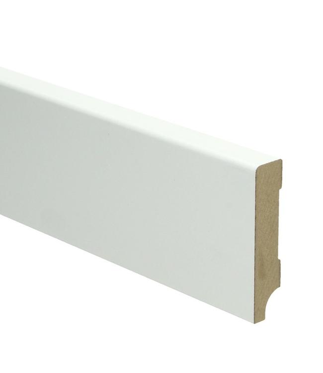 Moderne plint RAL 9010