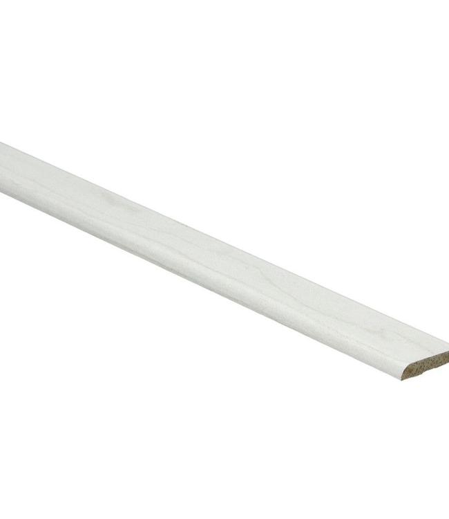 Elzen witte plakplint voor laminaat
