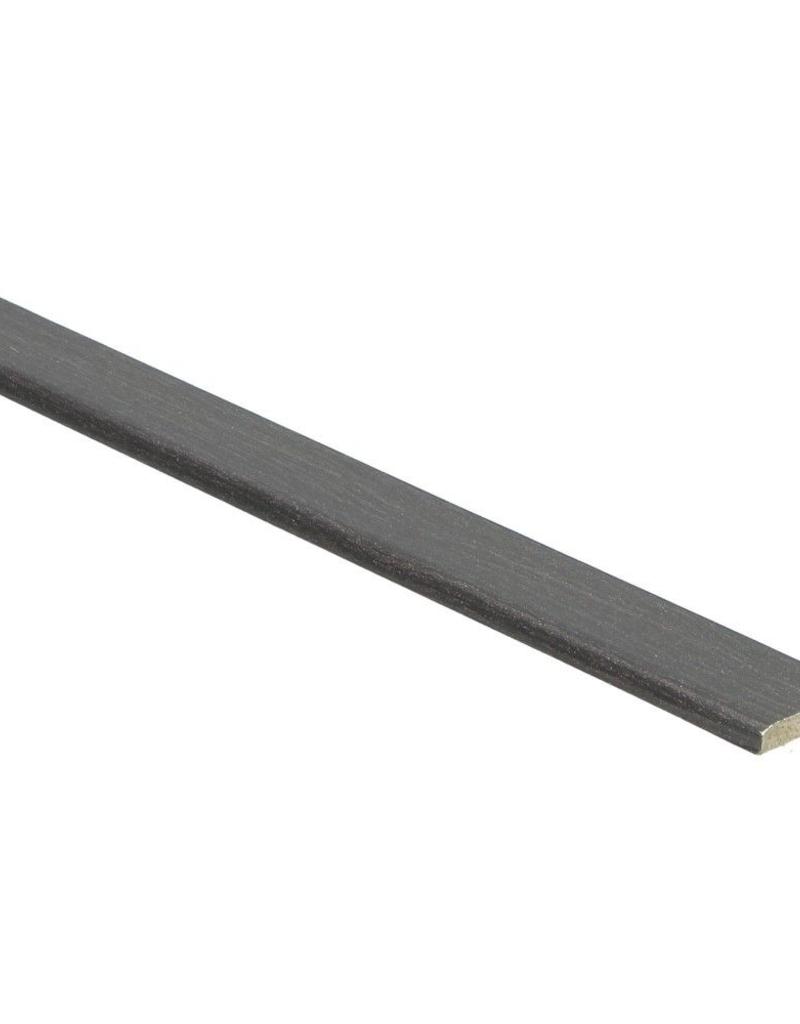 Wenge zwarte plakplint voor laminaat