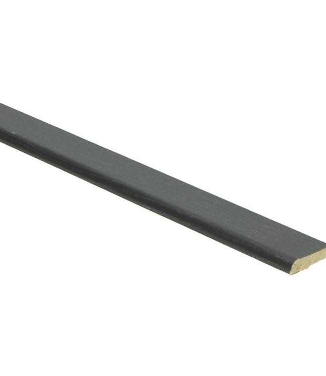 Zwarte plakplint voor laminaat