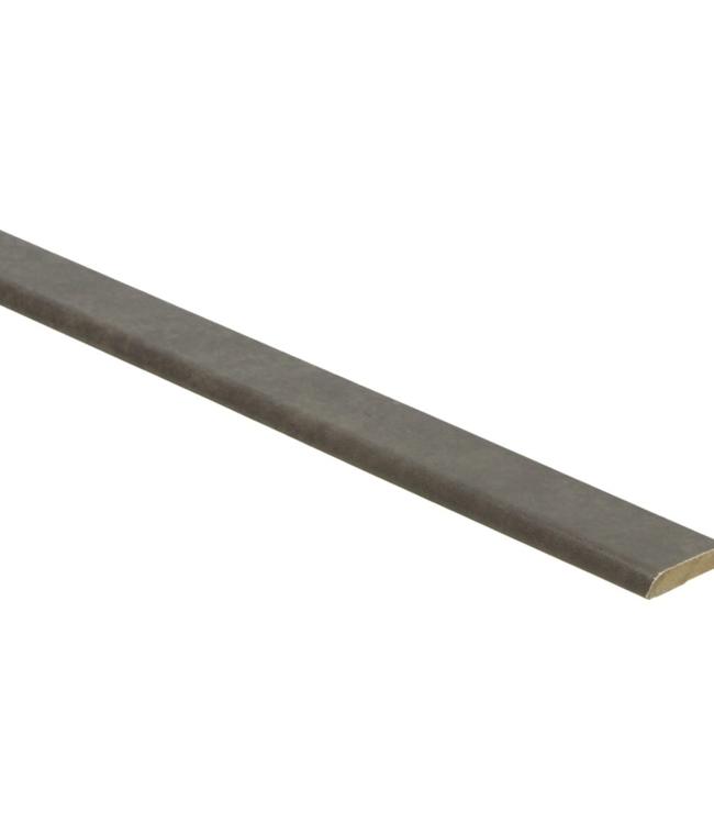 Beton gepolijste donkere plakplint voor laminaat