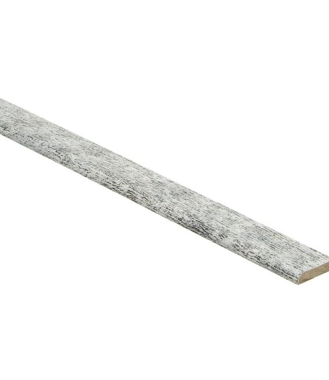 Eik whitewash plakplint voor laminaat