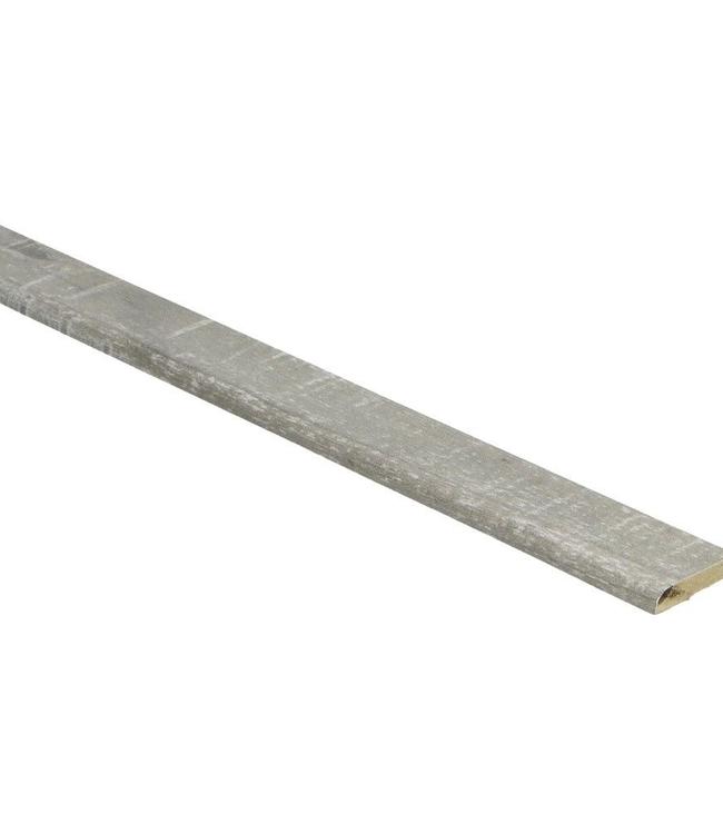 Eiken grijs met zaagsnede plakplint voor laminaat