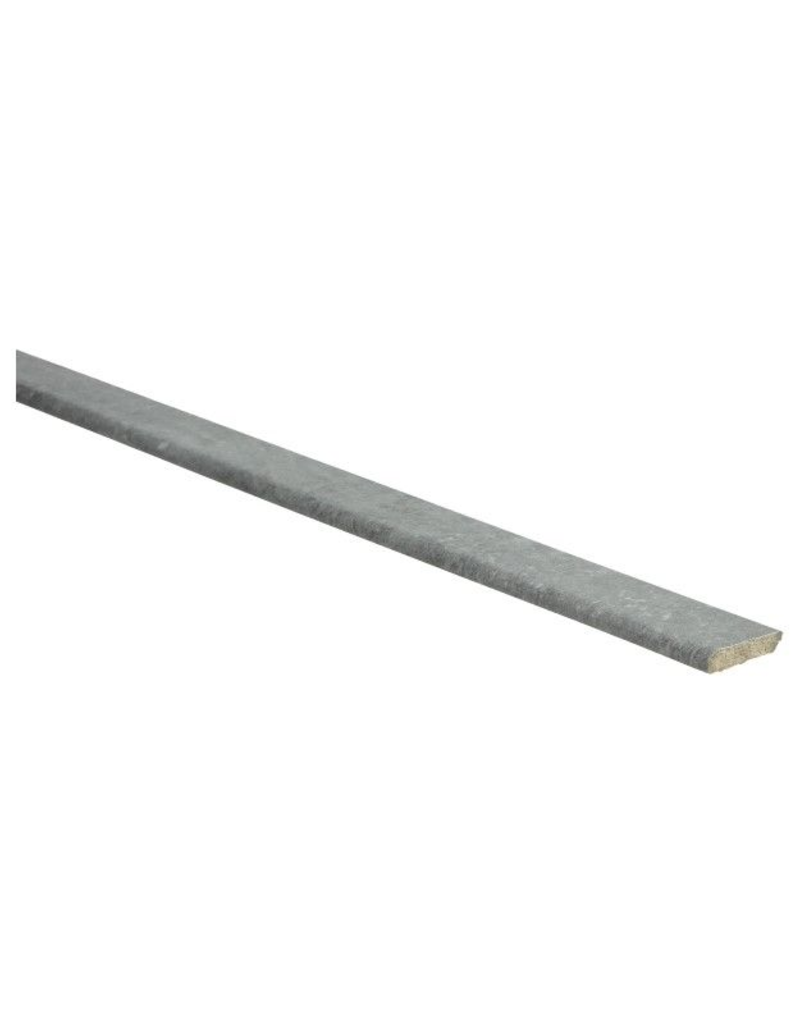 Beton donkergrijze plakplint voor laminaat