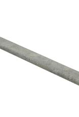 Concrete grey plakplint voor laminaat