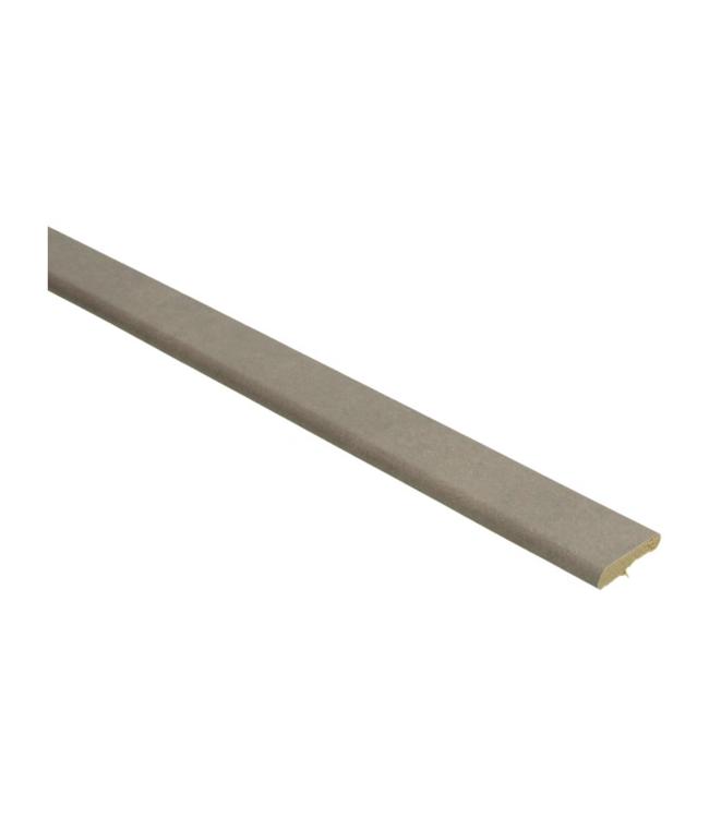 Beige beton donkere plakplint voor laminaat