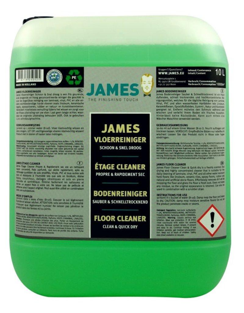 James James Vloerreiniger Schoon & Snel Droog voor laminaat en PVC vloeren