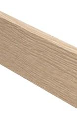 eiken wit rechte hoge plint voor laminaat, pvc en parket