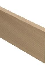 beuken select rechte hoge plint voor laminaat, pvc en parket