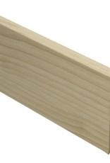ahorn rechte hoge plint voor laminaat, pvc en parket