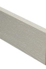 xenon rechte hoge plint voor laminaat, pvc en parket
