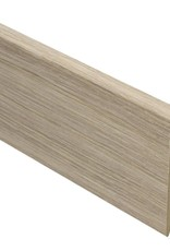 seagrass rechte hoge plint voor laminaat, pvc en parket