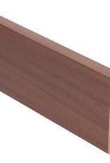 newport mahonie rechte hoge plint voor laminaat, pvc en parket