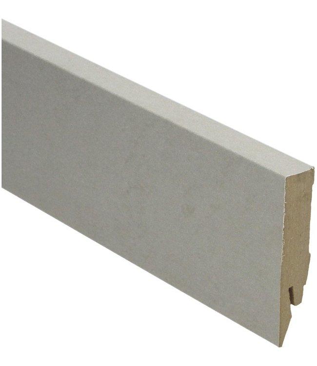 beton gepolijst natuur rechte hoge plint voor laminaat, pvc en parket